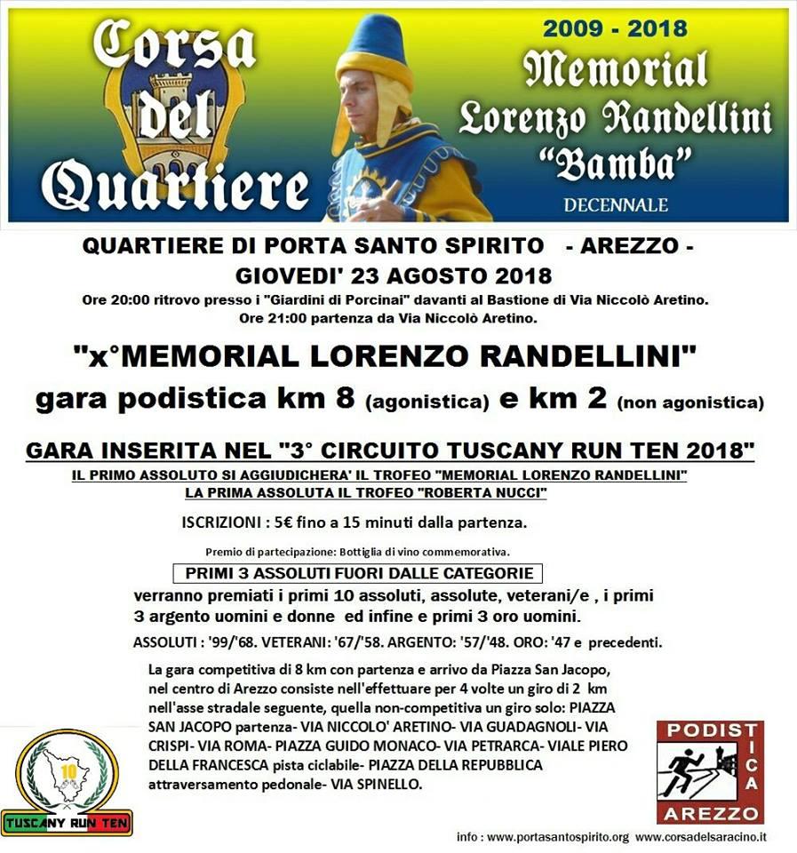 X° Memorial Carlo Fardelli @ Arezzo | Arezzo | Toscana | Italia